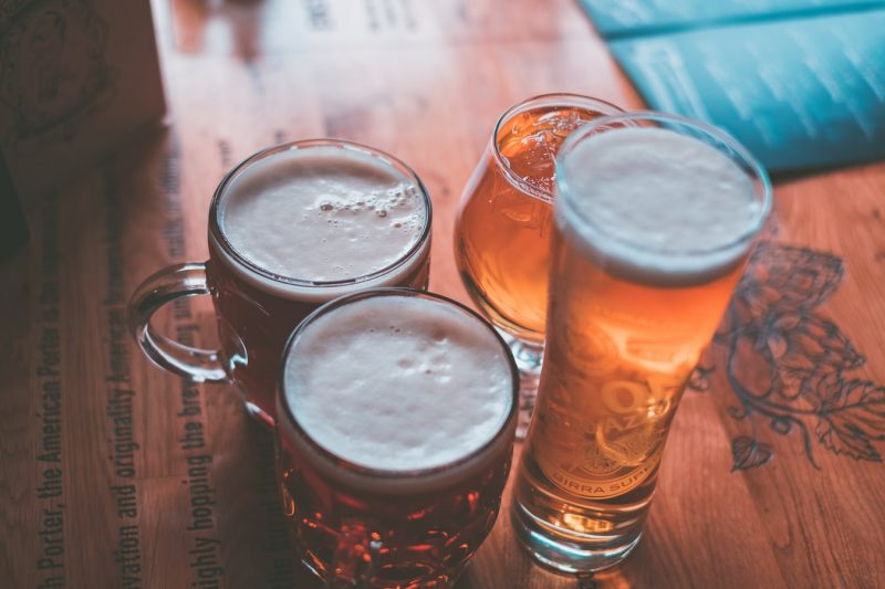 four beers
