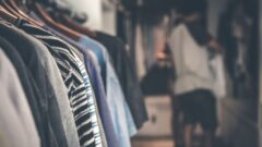 Mens wear on the racks, ready to be enjoyed