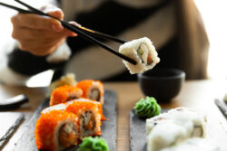 Delicious sushi near our Lely Resort vacation rentals